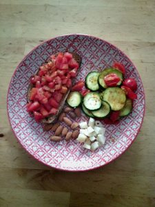 Miam, tartines santé selon Eva